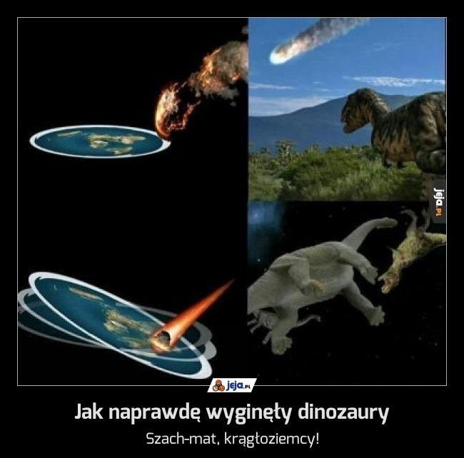 Jak naprawdę wyginęły dinozaury