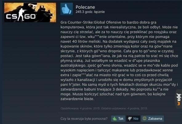 Kolejna recenzja ze Steama