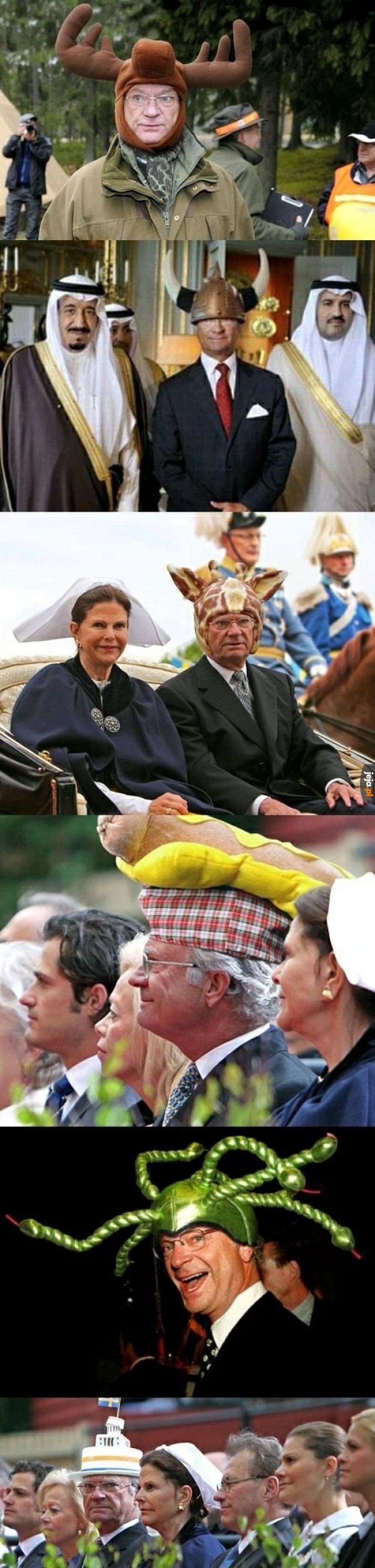 Jestę Królę Szwecji
