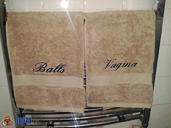 Ręczniki dla dwojga