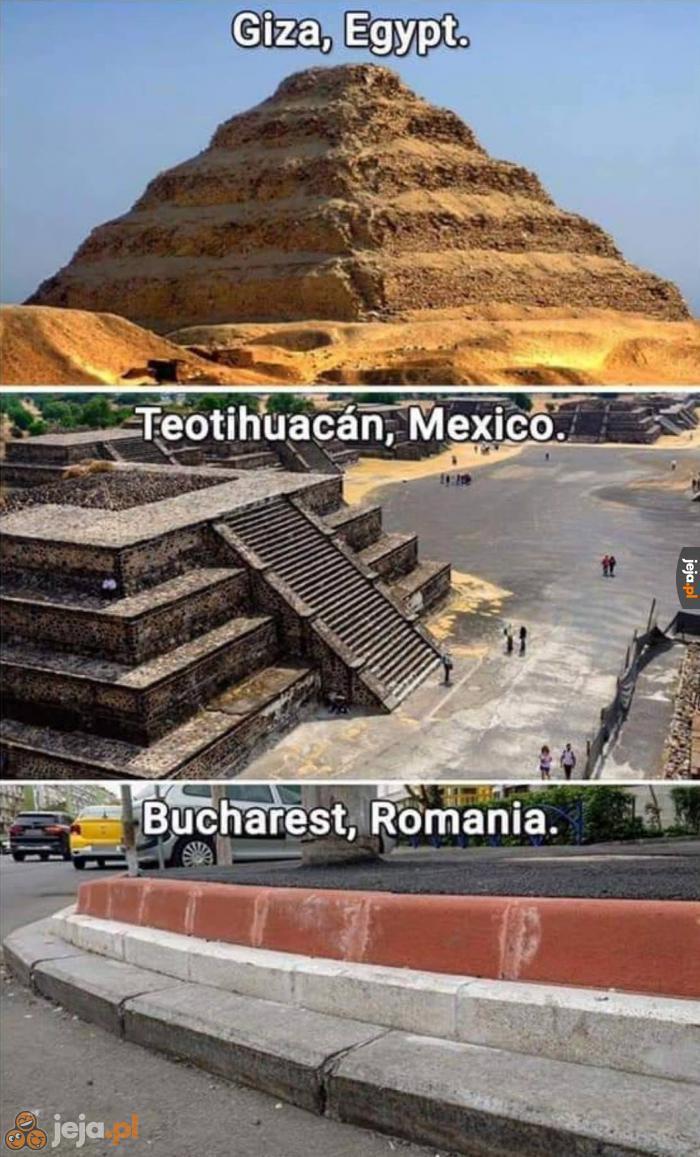 Jaki kraj, takie piramidy
