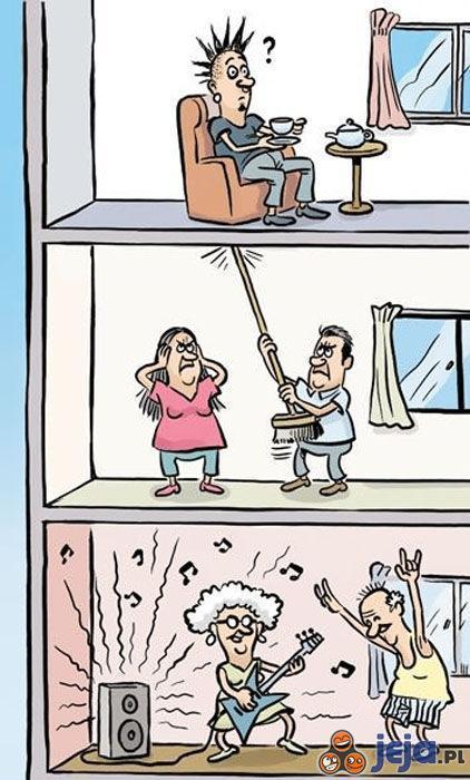 Hałaśliwi sąsiedzi