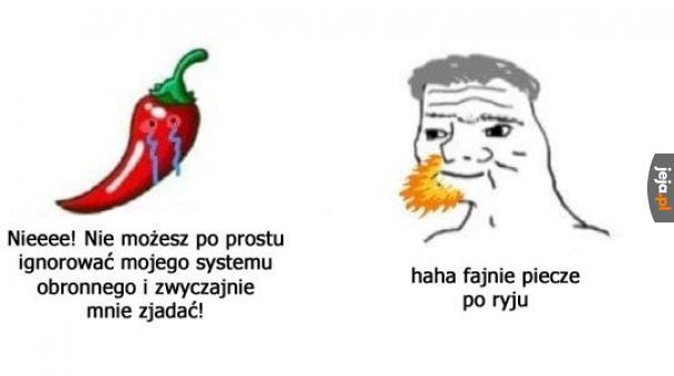 Biedne papryczki
