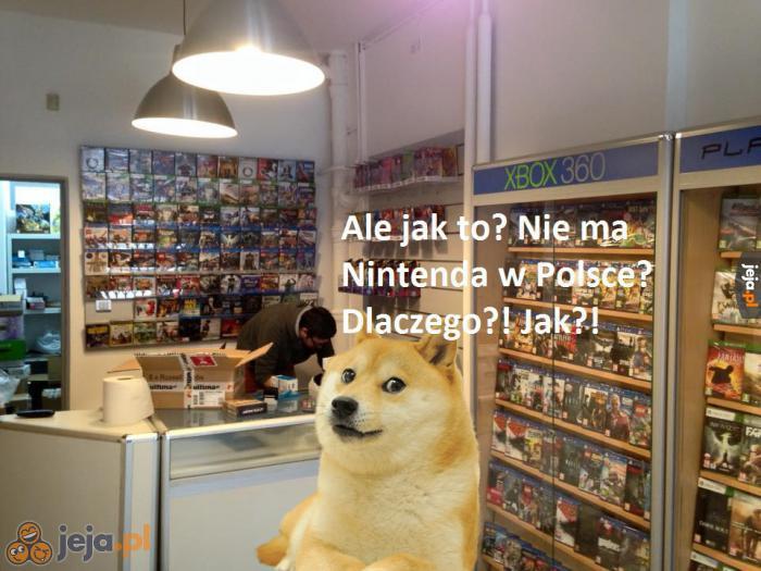 Konsole Nintendo zawsze były u nas raczej niszowe