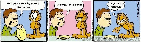 Garfield i ciasteczka