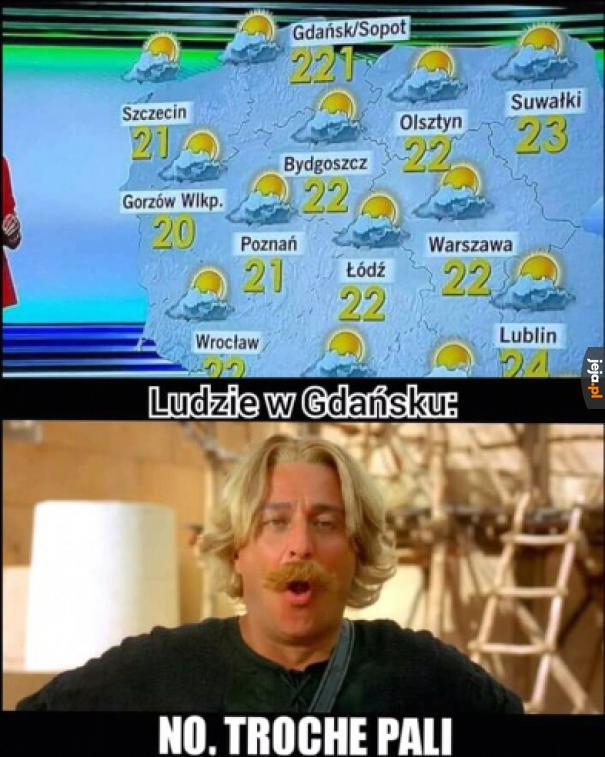 Gorąco na północy
