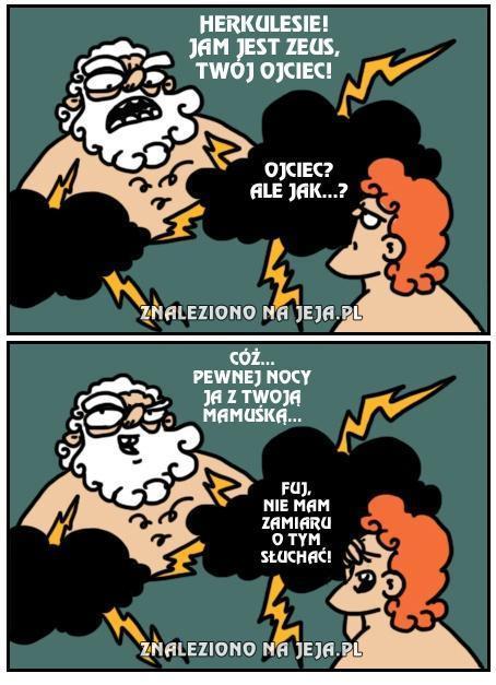 Zeusie, ty stary zboczuchu!