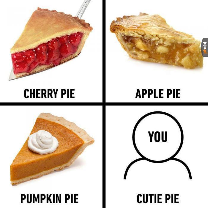 Jesteś uroczy!