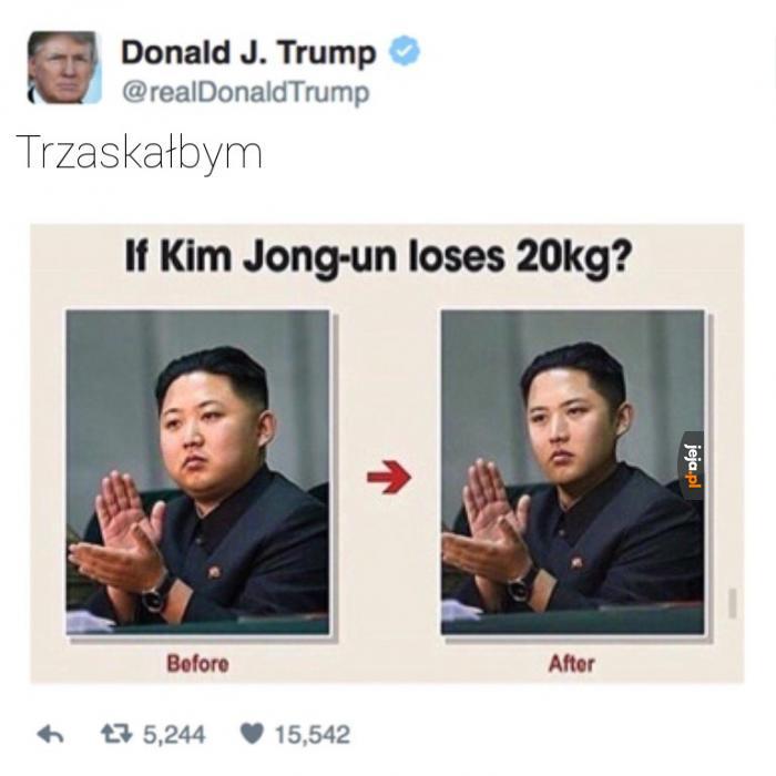 Kim mógłby schudnąć