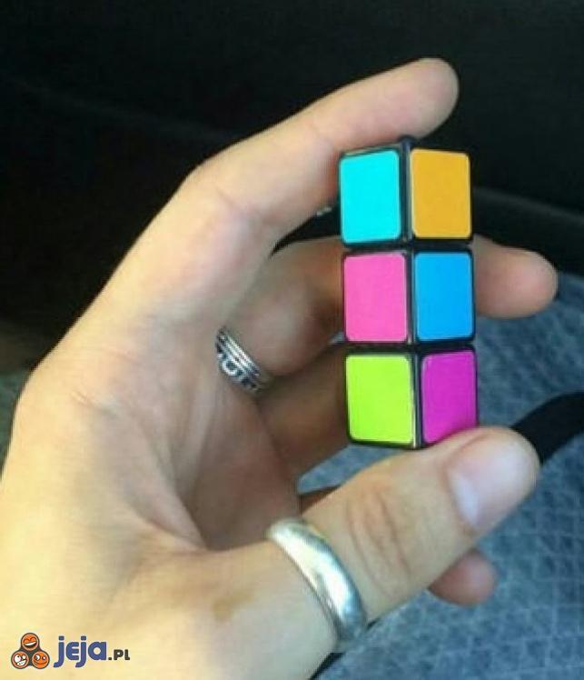 Kostka Rubika na miarę możliwości