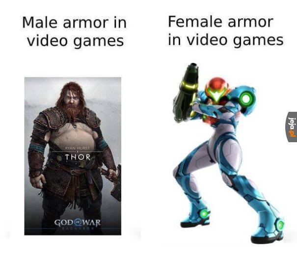 Porównanie zbroi