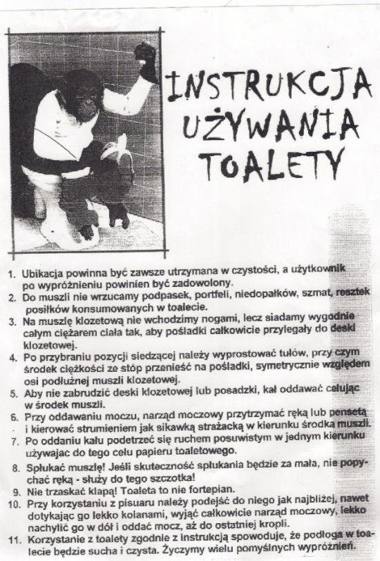 Sposób na prawidłowe użycie toalety
