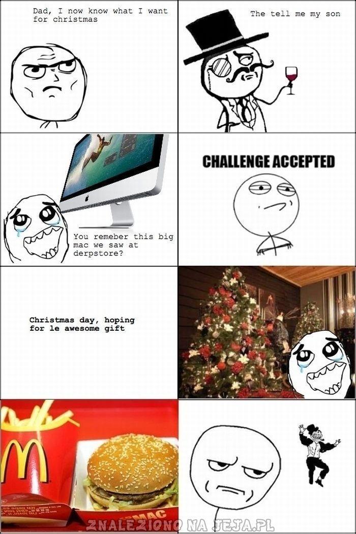 Obiecany prezent na Święta