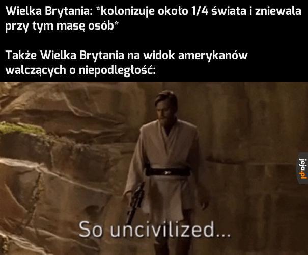 Kolonizacja? To nie nasza sprawka