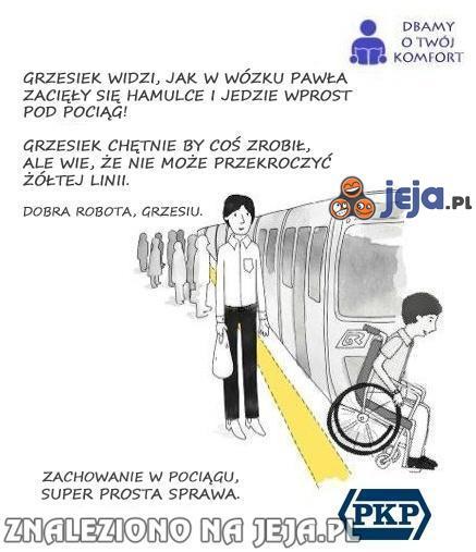 Zachowanie w pociągu #2