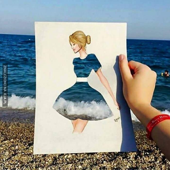 Nadmorska suknia