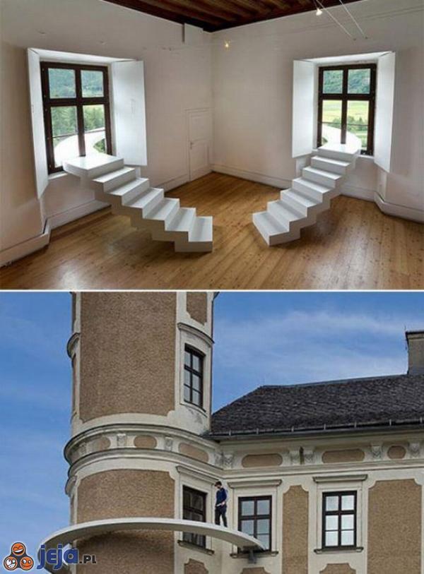 Nowatorki balkon