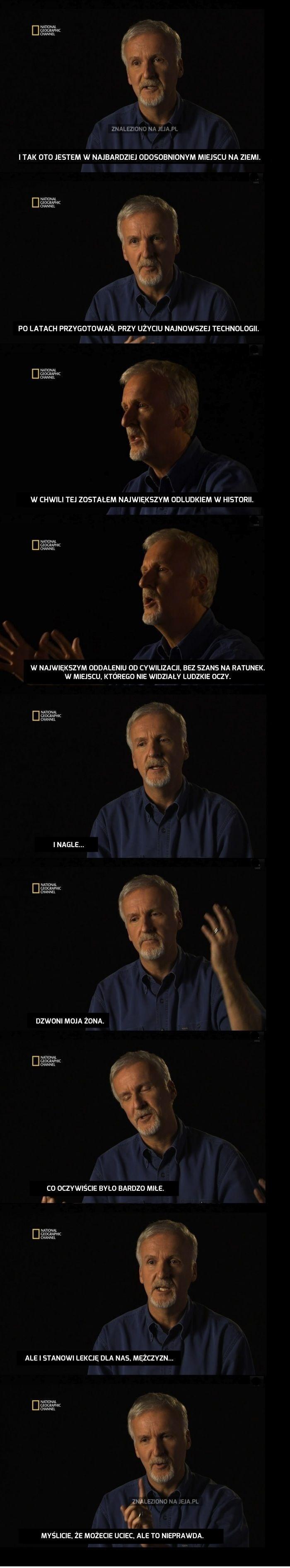 James Cameron wie, co w trawie piszczy.