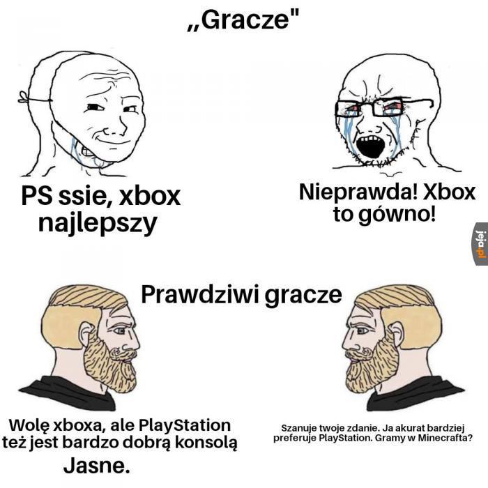 Prawdziwi gracze