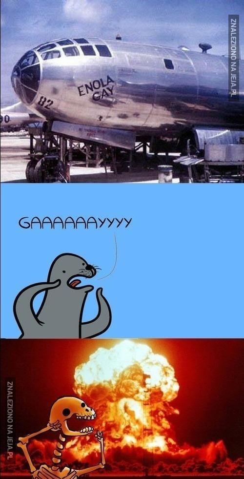 Nigdy nie wyśmiewaj się z broni atomowej