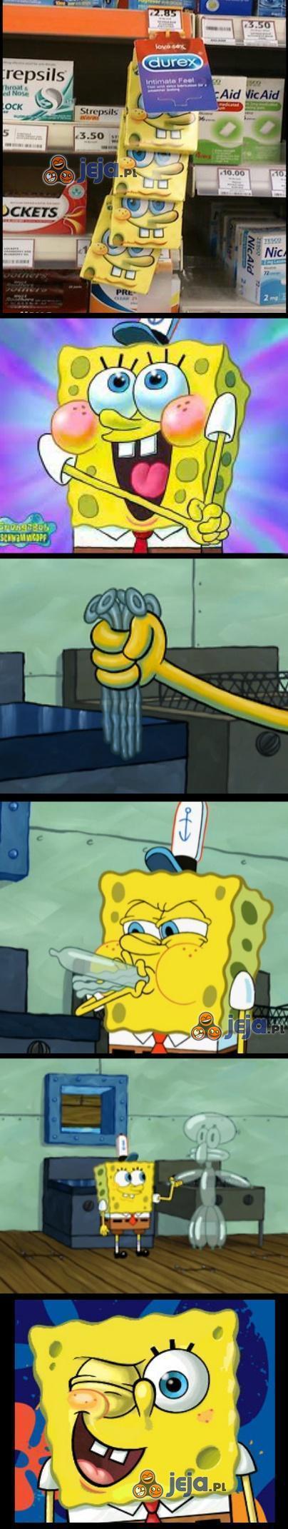 Spongebob, ty mały zboczeńcu...