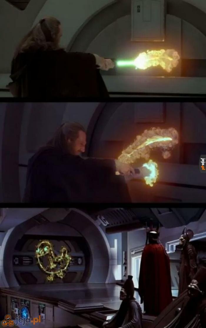 A mówią, że Jedi nie mają poczucia humoru