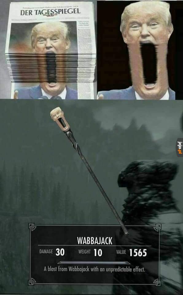 Słynna broń ze Skyrim