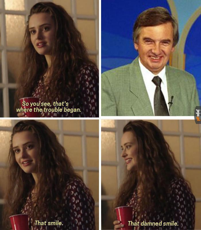 Uśmiech, któremu żadna się nie oprze