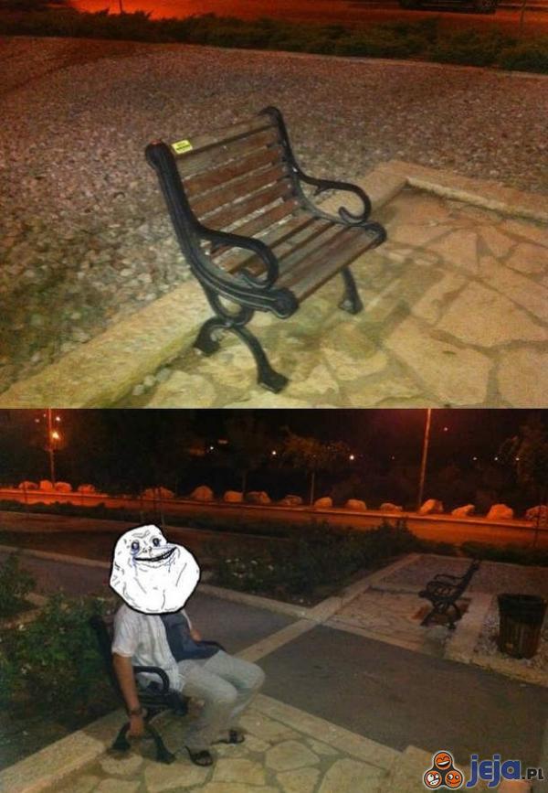 Ławka dla samotnych