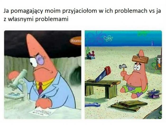 Ja vs ja vs problemy