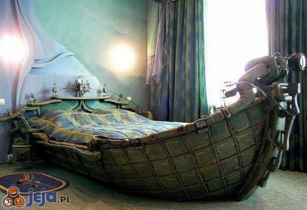 I Ty zostań piratem w swojej sypialni!