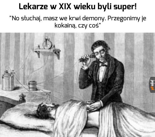 Postęp medycyny to błąd