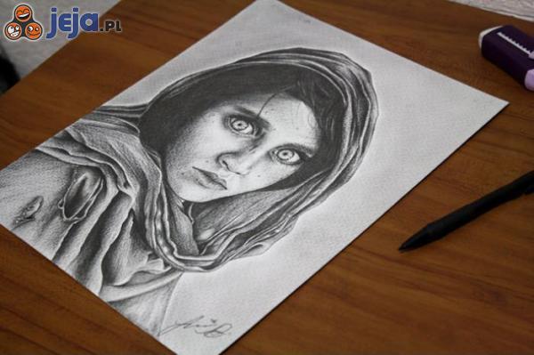 A nauczycielka mówiła, że nie nauczę się rysować