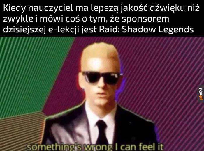 To była kwestia czasu