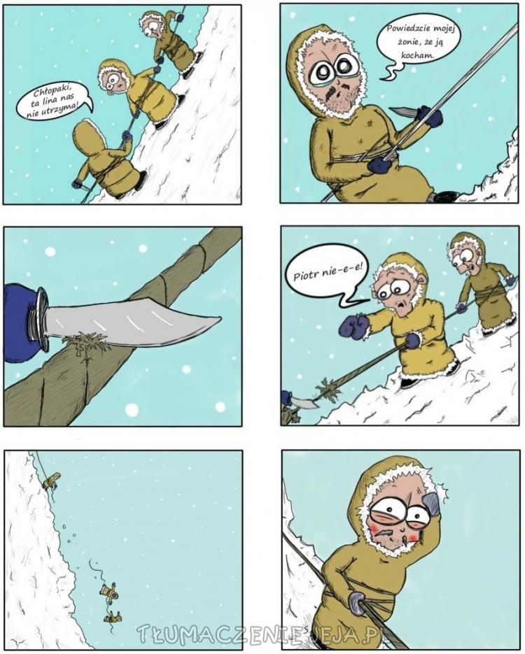 Wyprawa alpinistów
