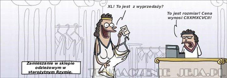 Zamieszanie w sklepie w starożytnym Rzymie