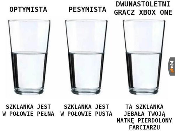 3 szklanki