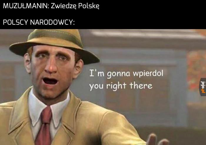 Polska to piękny kraj, zawsze ktoś zapyta, czy masz jakiś problem