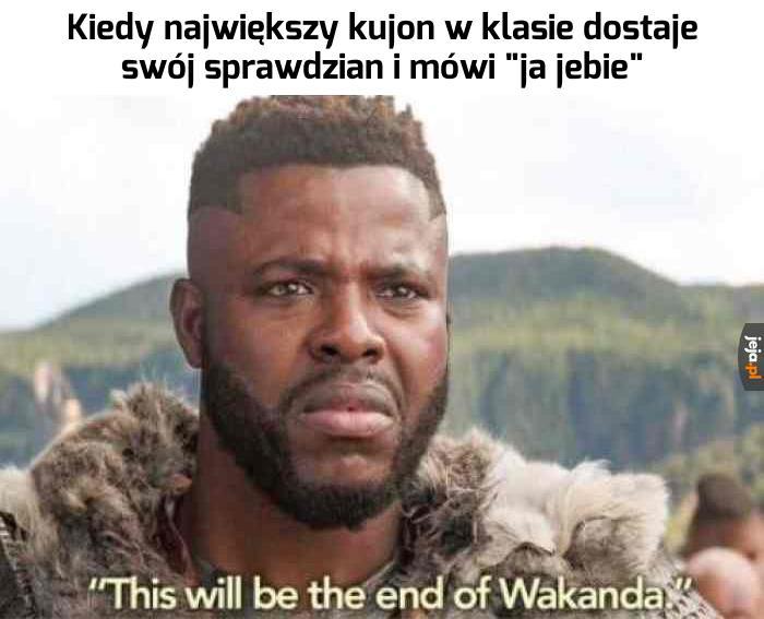 To już koniec