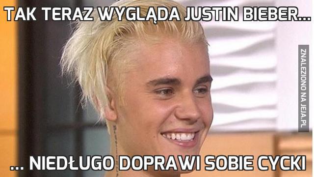 Tak teraz wygląda Justin Bieber...
