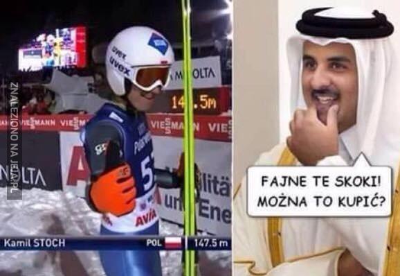 Tymczasem w Katarze...