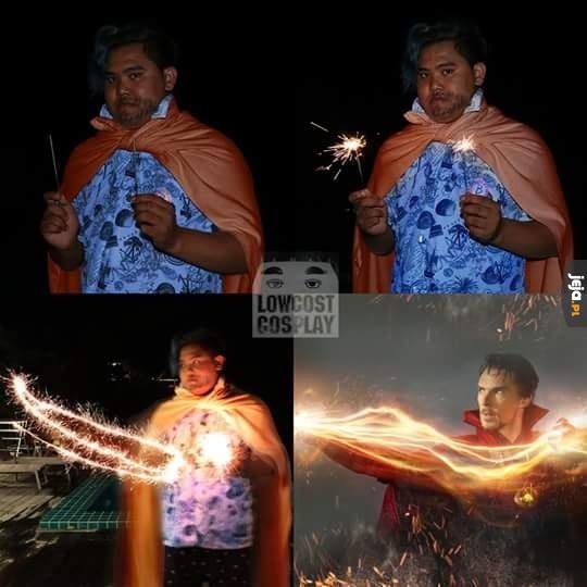 Cosplay Doctora Strange'a