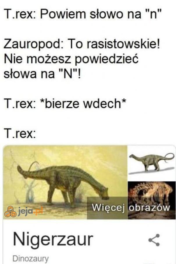 Dinozaur niepoprawny politycznie