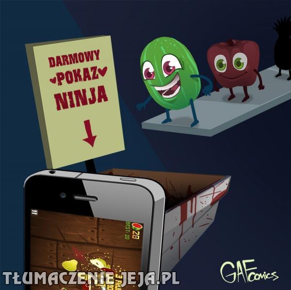 Owocowy ninja nadciąga!