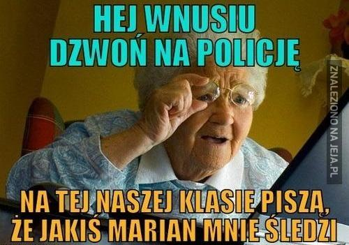Halo, policja?