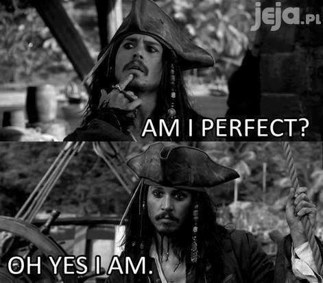 Jestem idealny?
