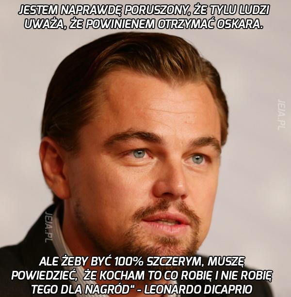 Leonardo DiCaprio o Oskarach