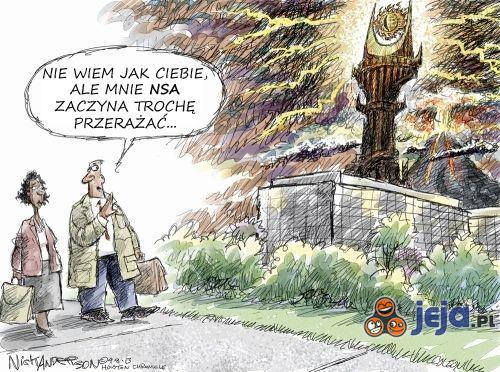 NSA patrzy...