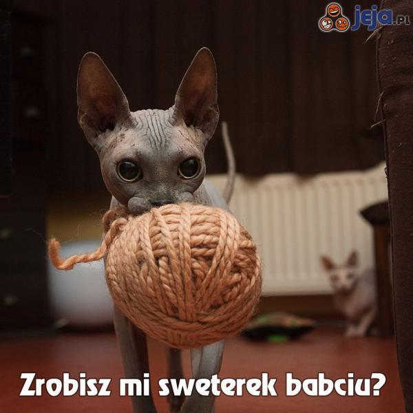 Zrobisz mi sweterek babciu?