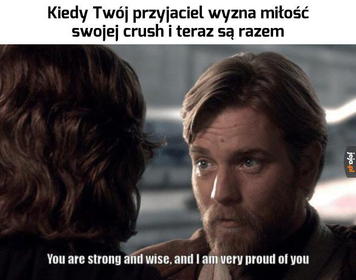 Jestem z Ciebie dumny, Mati